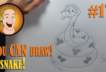 You can draw :) / Drawing tutorials for non drawers ;)