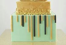 Art Deco Inspired Cakes