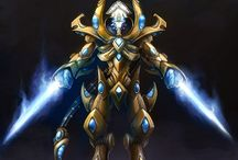 Game_Starcraft. Protoss / Egyptian style in games