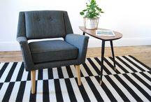 Fauteuil ambiance scandinave / sélection de fauteuils vintage et scandinaves