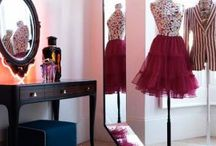 jewelry/sewing nook  / by Nydira Adams