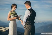 Wedding Elopements / Small weddings that are just about the couple - we are so here for this!