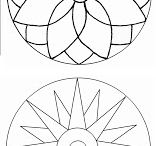 Mandala/Pontilhismo