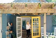 French Doors and deck