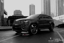 "Vellano VTL 26"" Standard l Jeep Grand Cherokee SRT 8 / Imagine yourself Cruising the Roads on this Jeep Grand Cherokee SRT 8 sitting on our Very own  Vellano VTL 26"" Standard  turn heads and make other drivers jealous,  all of our Wheels are custom cut to fit your Vehicle and Custom Finish on whatever color or Material you wish for.  Let us know what can we do for you?"