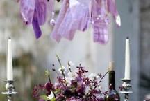 Hanging wedding pieces