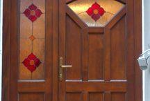 Vchodové dvere / Jednoduché vzory, atypy...