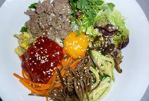 Korean cooking / by Eva
