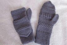 tricot  mitaines et bonnets