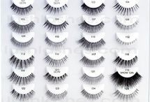 Types of Fake Lashes I can get it...