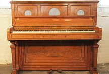 Neoclassical Pianos / Pianos with neoclassical style cabinets