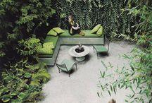 Vnitroblok office, Strašnice / zahrada, architektura, polosoukromý prostor, dílna