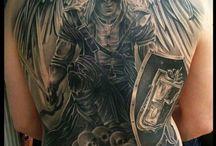 Tatto belakang