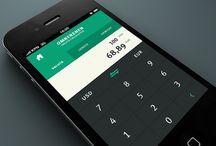 Mobile UI \\ Calculator