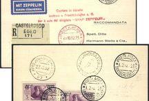 Stamps, Aegean Islands