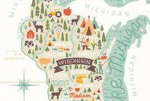 Illustrated Maps!