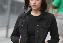 Alice How to Be Single Black Leather Jacket / Buy Amazing Dakota Johnson Jacket from LeathersJackets,com and get free Shipping in USA, UK and CANADA.