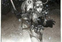 Comic book art / Various comic book art that we like