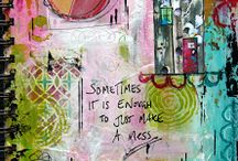 Art journaling / by Denise Carter
