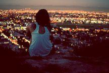 City Lights City Nights / by Billie Reinbold