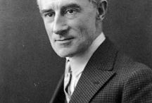 Maurice Ravel (1875 – 1937) / French composer born in  the Basque town of Ciboure, France, near the Spanish border. Known for his orchestral compositions Bolero and Daphnis et Chloé, along with his works for piano including Le tombeau de Couperin, Miroirs and Gaspard de la Nuit.