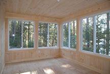 Camper sunroom
