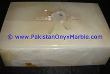 ONYX JEWELRY BOXES LID TOP GEMSTONES CRYSTAL QUARTZ SPECIMENS TRINKET CONTAINER CANISTER JARS