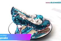 Cupcake Sequin Shoes