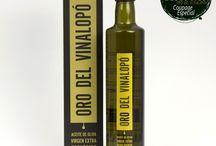 Oro del Vinalopó Aceite de oliva virgen extra ecológico / Productos Oro del Vinalopó