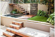 casa quintal e piscina