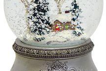 snow globes!!!!!!!