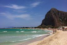 Spiaggia e mare di San Vito Lo Capo / Le meraviglie della spiaggia e del mare di San Vito Lo Capo