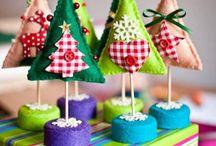 Vianoce / vianočne dekoracie handmade :)