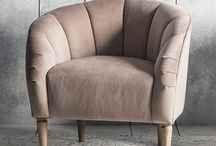 Spring 2018 Chairs & Seating / A stylishly curated collection of occasional chairs, armchairs, sofas and pouffes for every room.