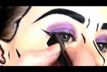 Cartoon makeup / by Emily Conklin