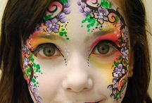 face painting and make up ideas