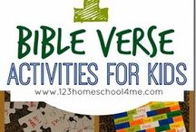 Bible project to kids / Kids, teens activities and ideas