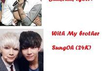 BTS V / I have That hard decision between Jimin and suga