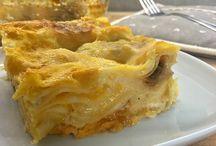 lasagns zucca porcini e gorgonzola