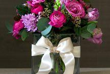 Flower arrangments @lalos flower shop Edessa Greece / My work
