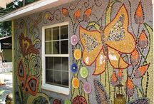 Мозаичные стены