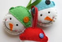 Advent ornaments