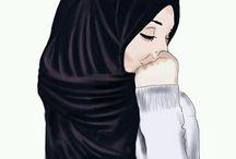 girl anime hijab