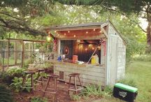 Ideas for party shed