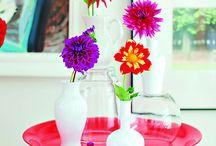 Deko und Blumen