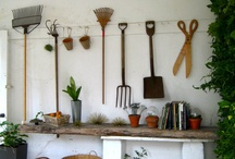 Storage Ideas We Like! / Ideas for storing all manor of items in the home particularly the garage.