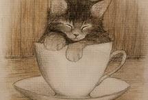 pisici desenate
