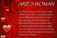 Me the Aries woman!