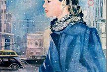 Журнал мод 1945 (СССР) / женская мода