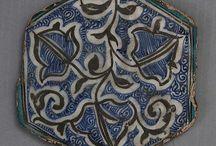 Hexagonal Tile 15th–16th century Syria